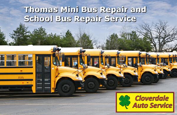 Thomas Mini bus repair and School bus repair Service